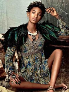 SHOOT: Willow Smith stunning voor CR Fashion Book | I LOVE FASHION NEWS