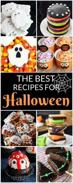 Whether you're planning a Halloween party, breakfast, or dinner, this list is the perfect resource for the best Halloween recipes!