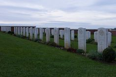 Australian Military Cemetery in Fromelles, France (near Lille)