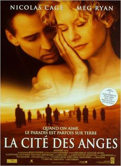 City of Angels a film by Brad Silberling + MOVIES + Nicolas Cage + Meg Ryan + Andre Braugher + Dennis Franz + Colm Feore + cinema + Drama + Fantasy + Romance City Of Angels Movie, Angel Movie, See Movie, Film Movie, Movies Showing, Movies And Tv Shows, Wim Wenders Film, Romantic Movie Quotes, Romantic Films