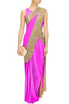 Studio Sheetal Women's Saree Free Size at Amazon Women's Clothing store: