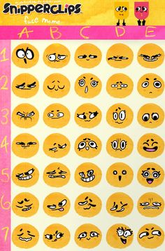 Snipperclips faces!!