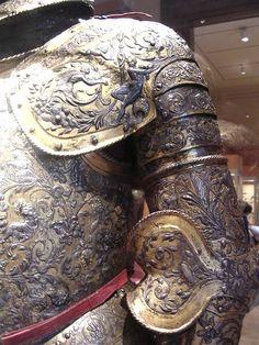 Beautiful detail in this armor ~ Met. Museum of Art