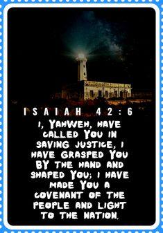 Isaiah 42:6 Isaiah 42, Book Of Isaiah, The Covenant, Books, Libros, Book, Book Illustrations, Libri