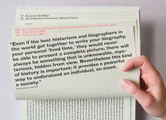 """The Berlage Survey of the Culture Education and Practice of Architecture and Urbanism"" door grafisch ontwerper Simone Koller uit Zürich (Studio NOI) in samenwerking met Annett Höland Lu Lian Graphisches Design, Book Design Layout, Print Layout, Print Design, Web Layout, Editorial Design Layouts, Typography Layout, Graphic Design Typography, Lettering"
