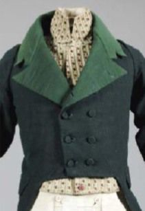 Detail of a Gentleman's Ensemble,French, early 19th century. ©KerryTaylorAuctions
