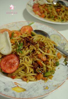 Dapur Comel Selma: Spaghetty Goreng (Kampung)
