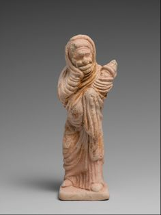 Terracotta statuette of an actor. Period: Late Classical. Date: late 5th–early 4th century B.C. Culture: Greek