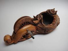Inkpot---a carpenter's tools----墨壷sumitubo
