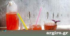 Ένα δροσερό αναψυκτικό που θα φτιάξετε εύκολα και θα απολαύσετε με την οικογένεια και τους καλεσμένους σας. Alcoholic Drinks, Beverages, Cocktails, Food Categories, Pink Lemonade, V60 Coffee, Creative Food, Food Art, Smoothies