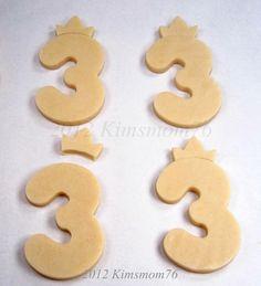 Kimsmom76: Princess Birthday Cookies