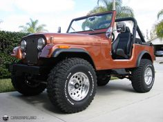 1983 jeep cj7 4 inch lift 35""