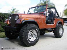"""1983 jeep cj7 4 inch lift 35"""""""