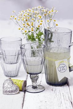 Our glass series will fit beautifully to all of your picnic accessories!
