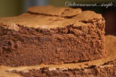 Gâteau au chocolat de grand-mère   Non, non ce n'est pas le gâteau de ma grand-mère! Mais la recette du gâteau au chocolat que je rêvais de ...