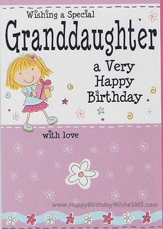 Birthday wishes for granddaughter Quotes Images, Wallpapers, Photos Greetings