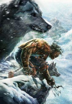 Wolverine - O alfa de uma matilha de lobos