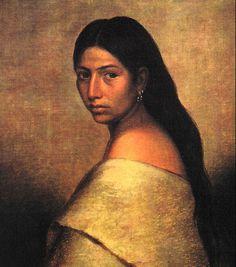 1850's Chocktaw woman
