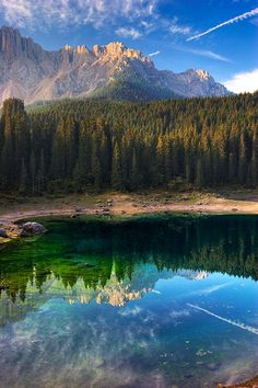 Karersee Morning ~~ Dolomites, Italy