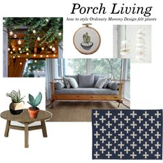 """""""Porch Living"""" by ordinarymommy on Polyvore"""