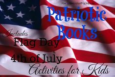 I don't know about you, but we were always reading in the summer. Even though we took a break from formal homeschooling, we still learned. Why not learn more about Flag Day, 4th of July (Independence Day) by reading patriotic books the next few weeks? Even if you don't have time ...