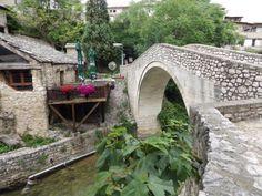 crooked bridge - Mostar