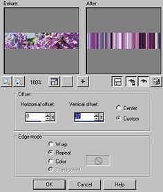 Paint Shop Pro — Make Stripes from a Photo