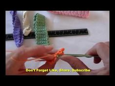 How to crochet a basic headband or hairband | Amazing On Planet