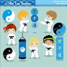 Imágenes Prediseñadas de Karate  Karate niños imágenes
