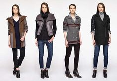 Unique, modern #outerwear from Ruff Hewn GREY by Bon Ton