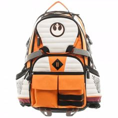 Star Wars Rebel Squadron Pilot Suit Up Laptop Backpack Bag