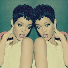 Rihanna Pixie Style