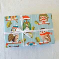 Owl Christmas Wrapping Paper!