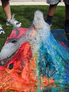 investigation - perhaps a bigger volcano like this this year?