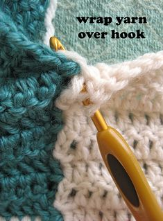Crochet and Connect Solid Squares as You Go
