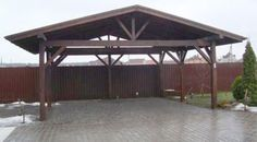 Carport Plans, Carport Garage, Backyard Patio Designs, Diy Patio, Barn House Kits, Tin Shed, Garage Dimensions, Carport Designs, Garden Gazebo