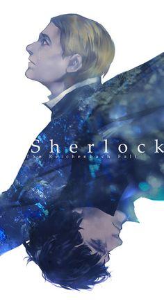 Sherlock and John art.