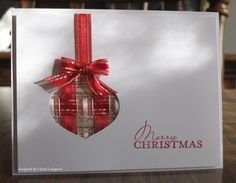 Our Little Inspirations: Woven Ribbon Ornament