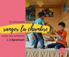 Ranger sa chambre avec ton enfant l'aide à s'organiser et à s'épanouir ! Je t'explique comment dans cet article Cycle 1, Education Positive, Aide, Positivity, Movie Posters, Adhd, Four Kids, Fun Learning, Film Poster