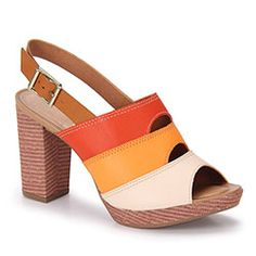 Sandália Salto Feminina Mississipi - Color