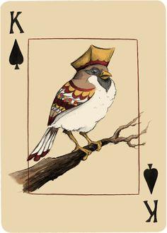 King of Spades - Hogwash and nonsense playing cards Playing Cards Art, Custom Playing Cards, Custom Cards, Haus Of Cards, King Of Spades, Deck Of Cards, Card Deck, Love Illustration, Joker