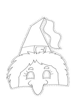 Menta Más Chocolate - RECURSOS PARA EDUCACIÓN INFANTIL: Dibujos para colorear de CARETAS Theme Halloween, Halloween Crafts For Kids, Halloween Birthday, Diy Halloween Decorations, Halloween Masks, Fall Halloween, Happy Halloween, Halloween Infantil, Moldes Halloween