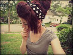 Love bandana hairstyles
