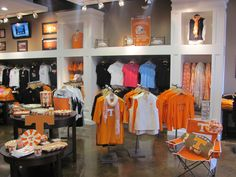 We might be a little biased BUT Alumni Hall has the best Tennessee store around!  www.alumnihall.com