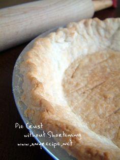 ****パイの皮のレシピ、ショートニングを使わないパイ皮、低脂肪のパイ皮、動画のレシピ、パイクラスト、パイのクラスト、ヘルシーなパイ皮…