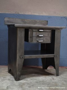 1000 images about vintage industrial storage on pinterest vintage industri - Bureau vintage industriel ...