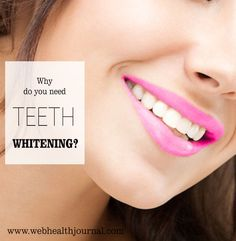 Do you feel the need to whiten your teeth? Are you tired or ashamed of your yellow teeth and avoid smiling in public? #health #health_tips #healthy_living #health_care #fitness #health_fitness #wellness #teeth