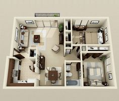 small 2 bedroom house plans small two bedroom house plans south africa 2 Bedroom House Plans, New House Plans, Modern House Plans, Small House Plans, House Floor Plans, Apartment Layout, Apartment Plans, Apartment Design, 2 Bedroom Apartment Floor Plan