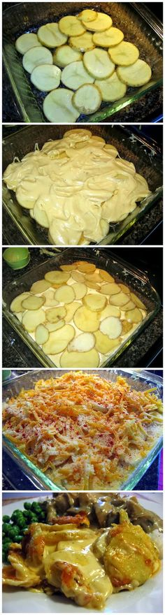 Top Food Center: Cheesy Scalloped Potatoes