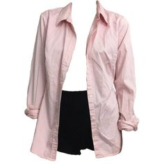 Pink black outfit polyvore moodboard filler